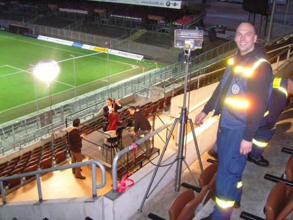 Im Millerntor-Stadion.