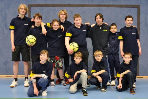 Unsere Jugendgruppe nahm mit zwei Mannschaften teil.
