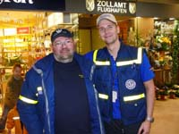 Thomas und sein Gruppenführer Peter Stemmann.