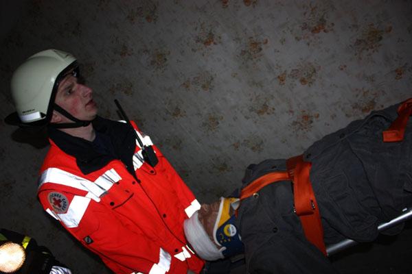 Eine verletzte Person konnte gerettet werden.