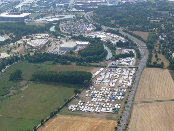 Unsere Jugendstadt erstreckte sich über zwei Kilometer. Sie war so groß wie 25 Fußballfelder.