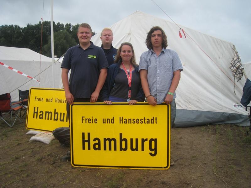 Dennis Pasch, Martin Nehlsen, Tina Westphal und Georg Ziegler.