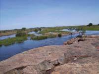 Die wunderschöne Landschaft Ugandas hat mich fasziniert.