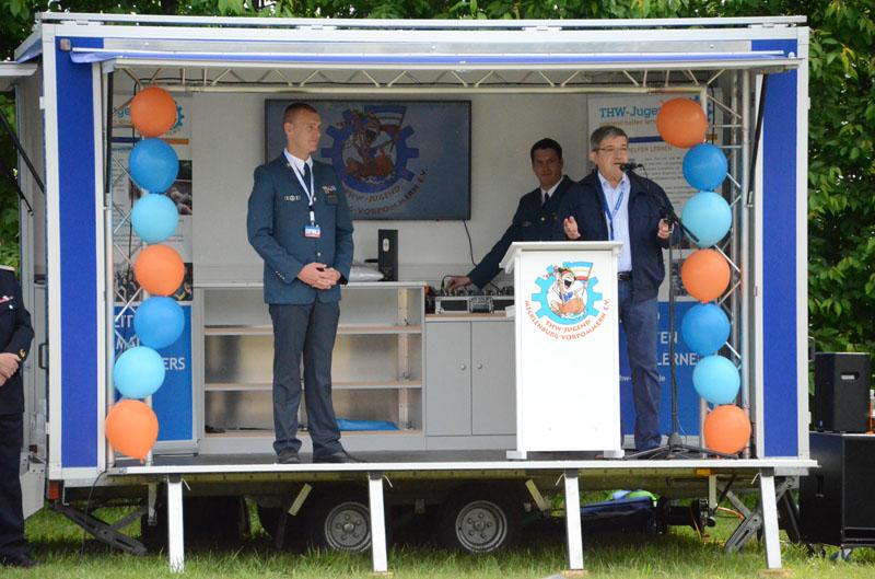 Eröffnungsansprache des Innenministers des Landes Mecklenburg-Vorpommerns, Lorenz Caffier.