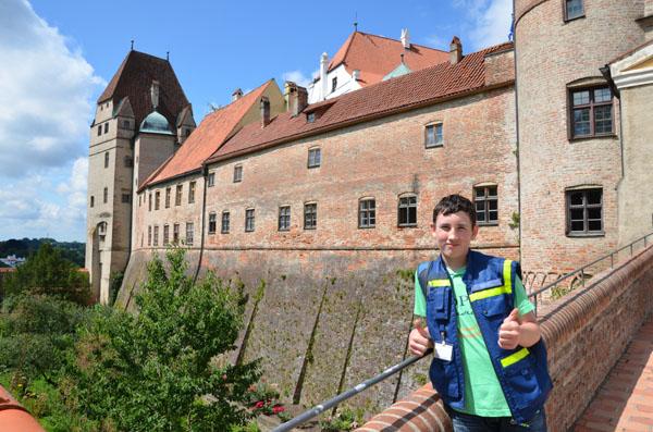 Besichtigung der Burg Trausnitz.