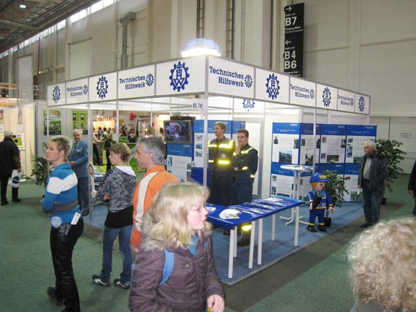 Unser Messestand in Halle B5.