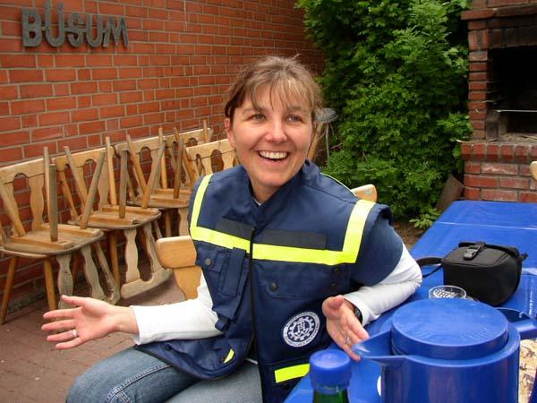 Michaela Billenstein-Peltzer, Referentin für Jugendarbeit beim Länderverband HH-MV-SH