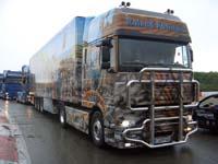 Truck in der Müllenbachschleife