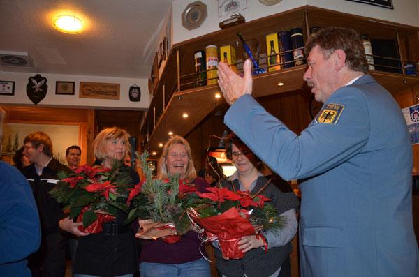 Ein Dank an die Küchencrew. Birgit, Angelika und Katrin, sowie Ronald, Klaus, Heiko und Ole.