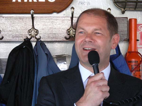 Grußworte Bundesarbeitsminister Olaf Scholz.