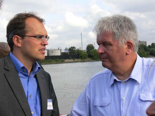 Christian Carstensen (MdB) und THW-Präsident Albrecht Broemme.
