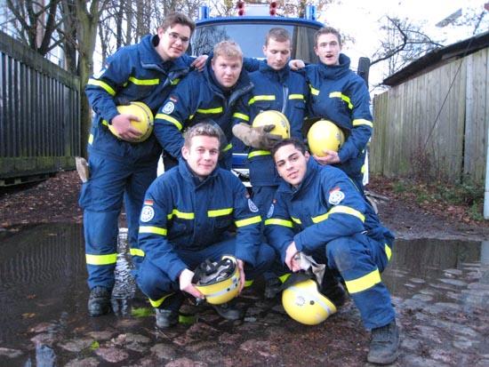 "Alexander, Martin, Oliver, Jonas, Sebastian, Schahin, die ""Neuen"" im Ortsverband Hamburg-Nord."