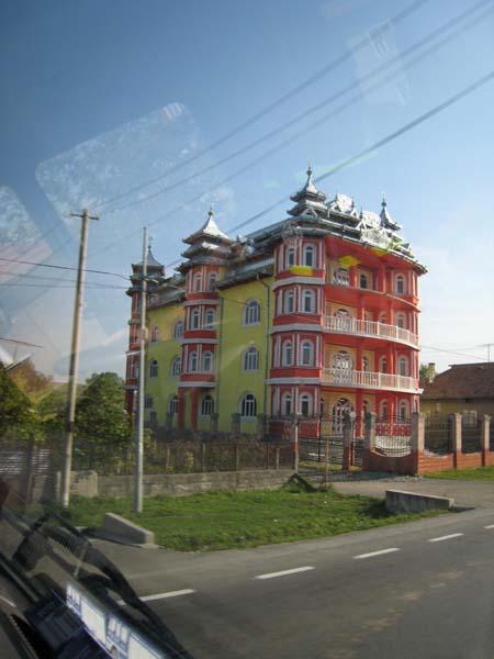 In Rumänien sehr verbreiteter spezieller Baustill.