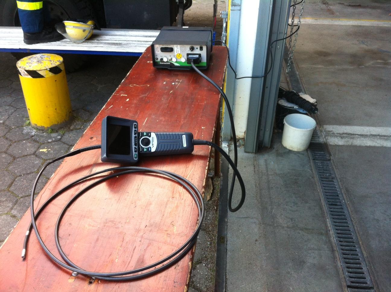 Video-Endoskop.