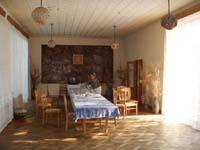 Im Gästehaus der Stadt Ungheni.