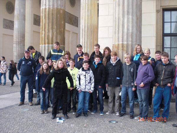 Die Teilnehmer der Studienfahrt.