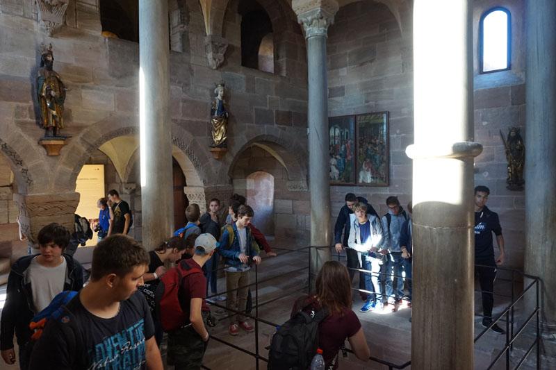Besichtigung der Nürnberger Burg.