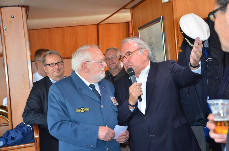 Uwe Beckmeyer, parlamentarischer Staatssekretär beim Bundesminister für Wirtschaft und Energie, kam auch zu Wort.