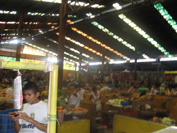 Markt in León.