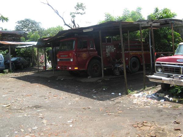 Feuerwehren in León, bei denen weniger Fahrzeuge einsatzbereit waren als kaputt.