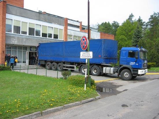 Entladung an der Sonderschule und Kindergarten Smalininkai.