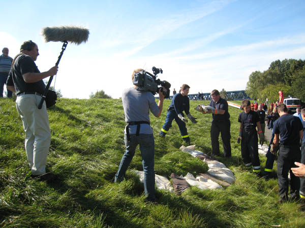 Ein Kamerateam des NDR.