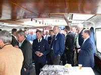 Immer gut Besucht: Die traditionelle Hafenrundfahrt der Landeshelfervereinigung Hamburg.