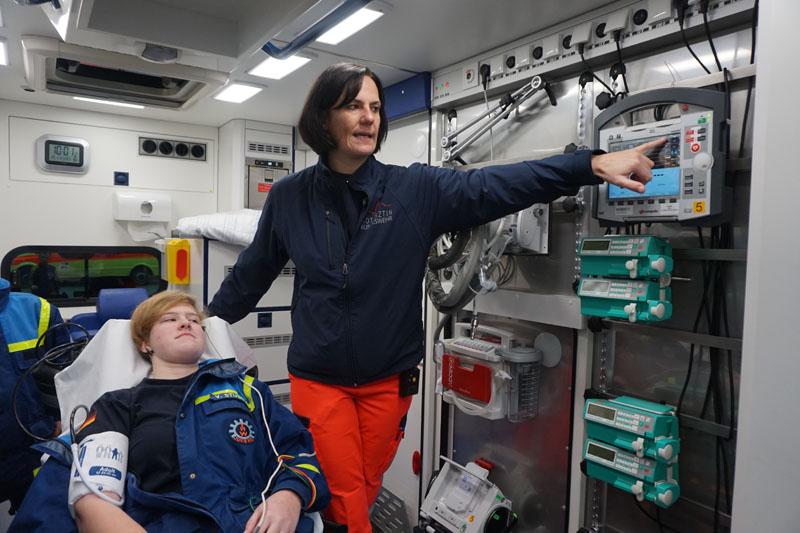 Vanessa hat sich in ihrer Rolle als Patientin sehr gut aufgehoben gefühlt.