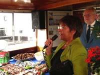 Frau Angelika Mertens, parlamentarische Staatssekräterin im Bundesverkehrsministerium