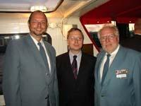 Dr. Georg Thiel, Frank Schulze, Bernd Balzer