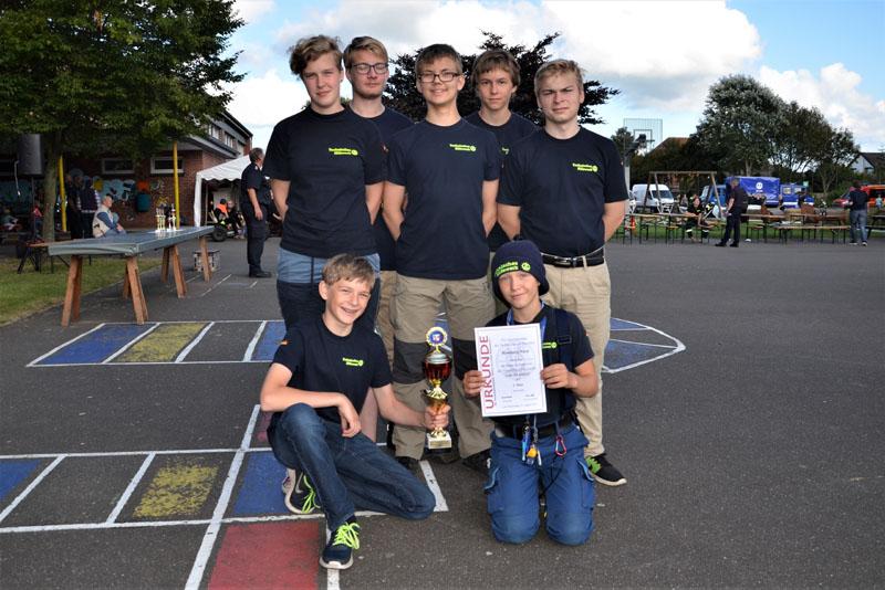 Unsere Mannschaft erlangte den 2. Platz.