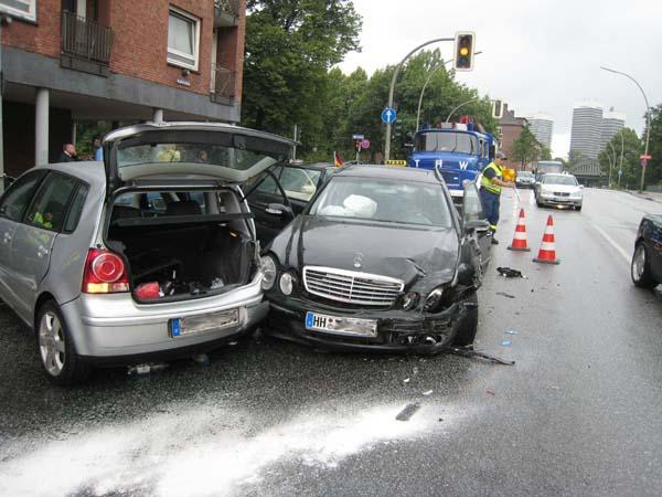 Verkehrsunfall.
