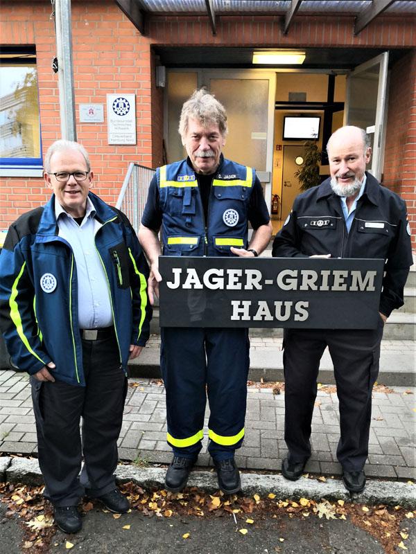 Roland Kuschel, Dietwald Jager und Klaus Griem.
