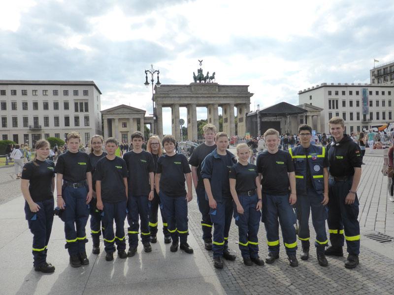 Die 13 Teilnehmer kamen aus ganz Deutschland und hatten einen Tag lang Zeit sich in Berlin kennenzulernen.