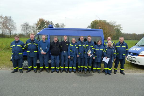 Die Teilnehmer aus den Ortsverbänden Hamburg-Altona, -Bergedorf, -Mitte, -Nord und -Wandsbek.