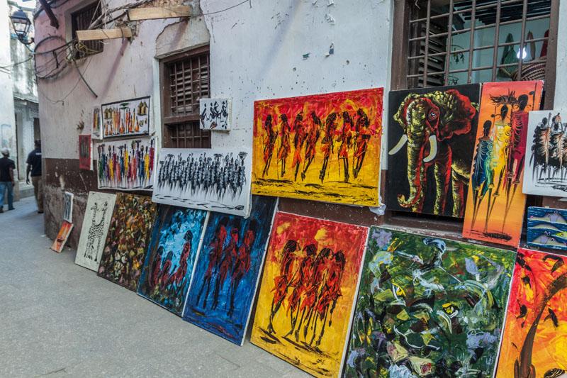 In Stonetown auf Sansibar.