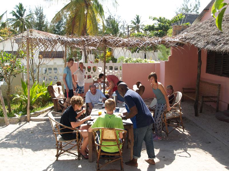 Im Bububu Guest House auf Sansibar.